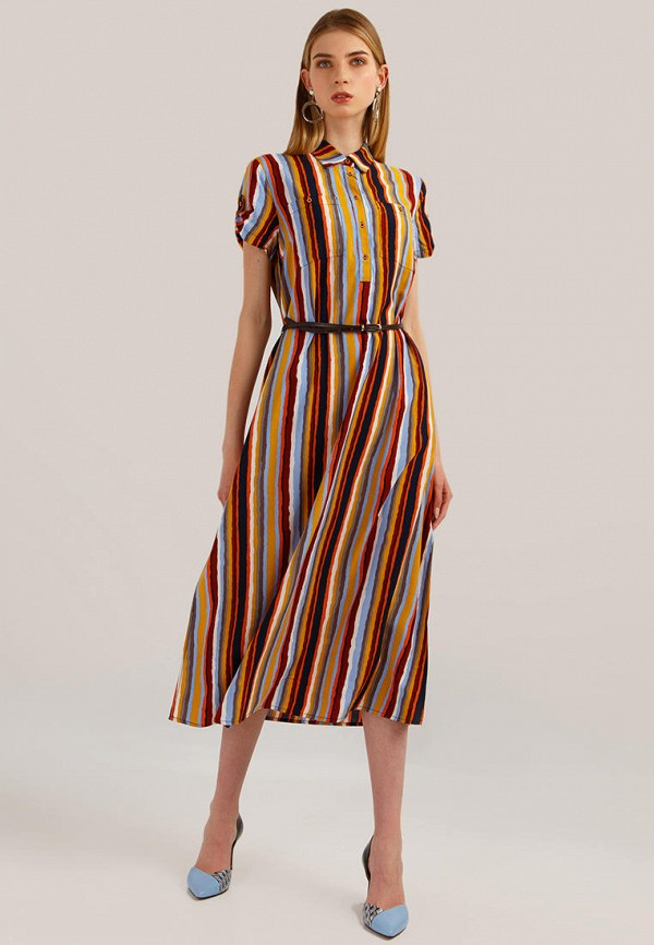 Платье Finn Flare Finn Flare MP002XW0Q833 недорго, оригинальная цена