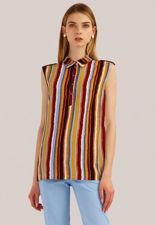 Блуза Finn Flare разноцветного цвета