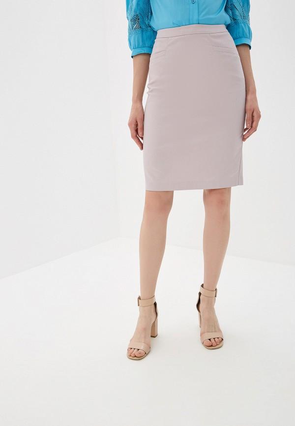 Юбка Yuna Style Yuna Style MP002XW0Q8AB юбка трика бежевый оранжевый 54 размер