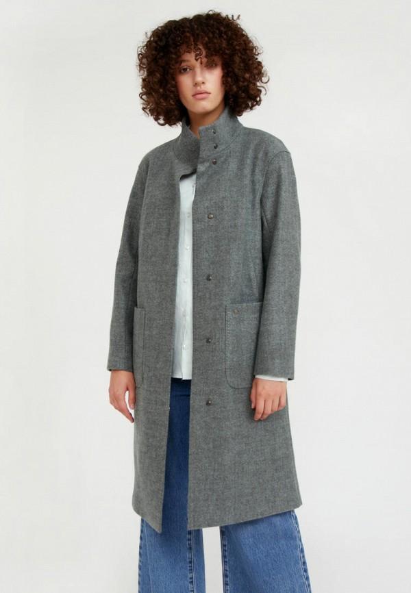 Пальто Finn Flare зеленого цвета