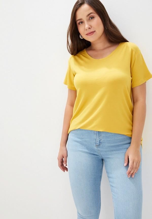 Купить Женскую футболку Svesta желтого цвета