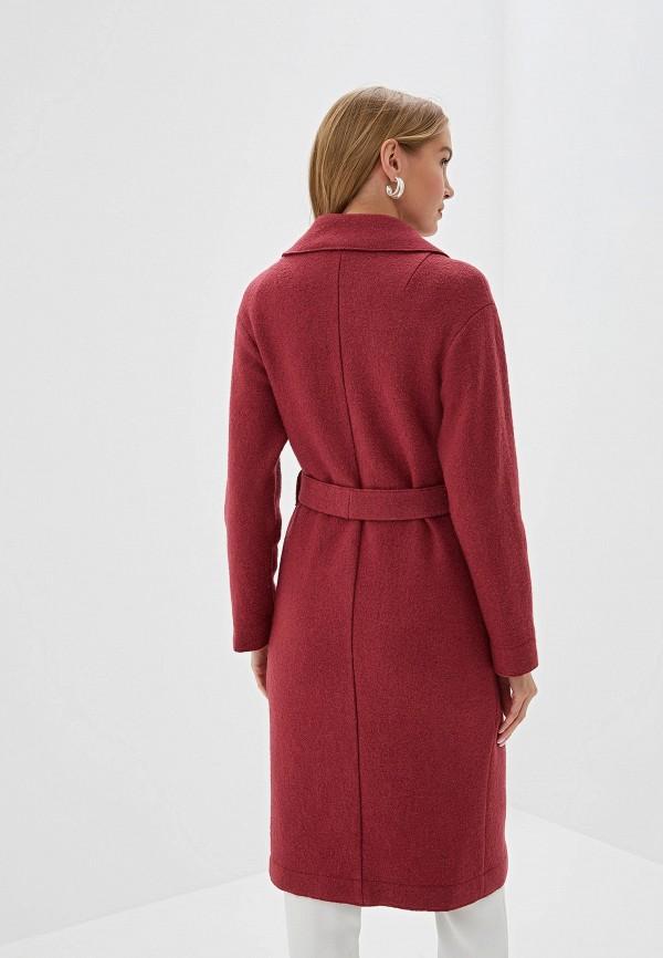 Пальто Aylin Stories цвет бордовый  Фото 3