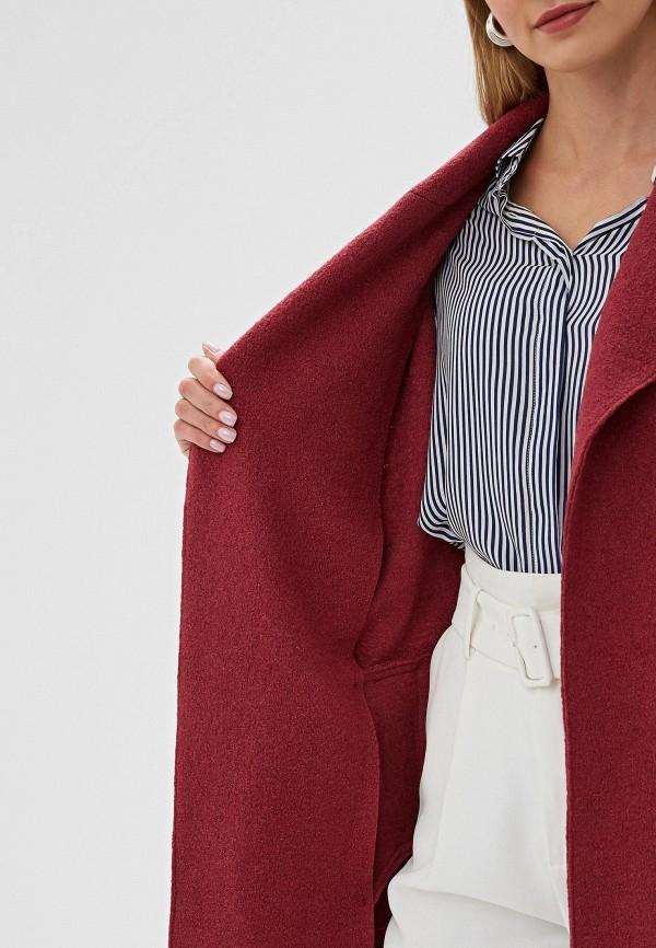 Пальто Aylin Stories цвет бордовый  Фото 4