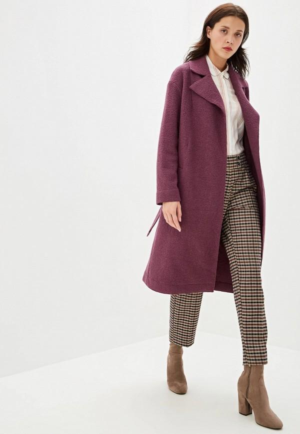 Пальто Aylin Stories цвет фиолетовый