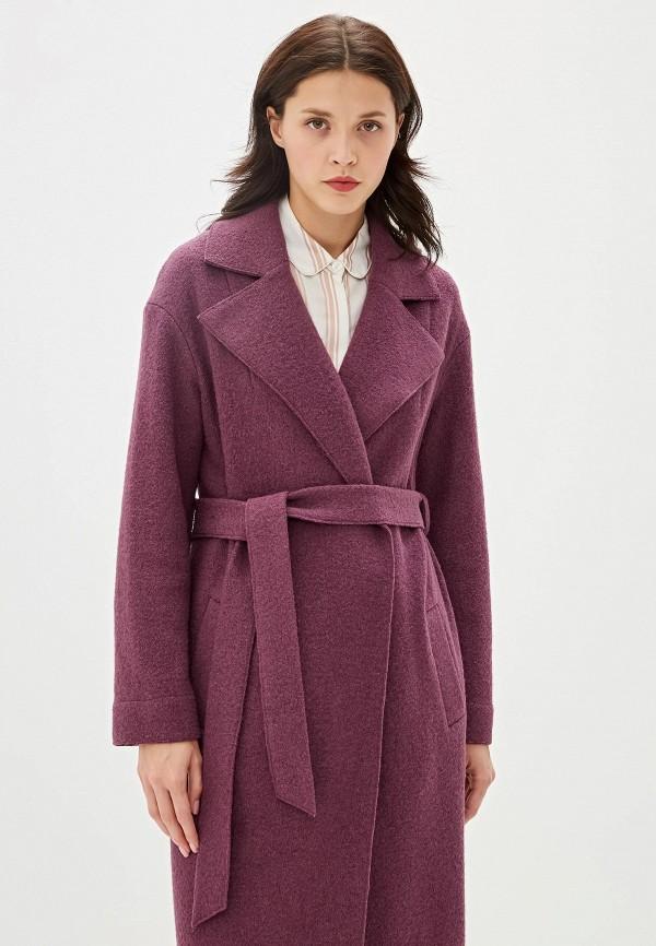 Пальто Aylin Stories цвет фиолетовый  Фото 2