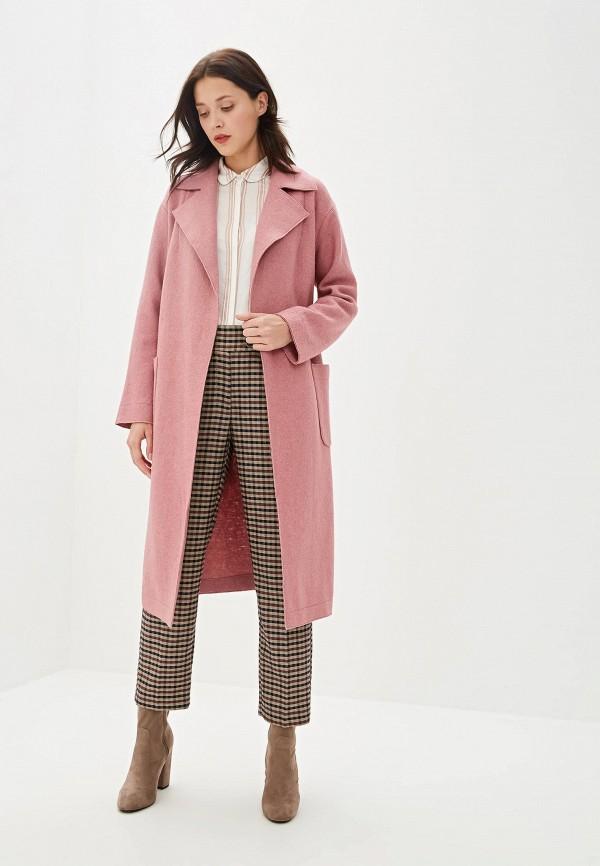 Пальто Aylin Stories цвет розовый