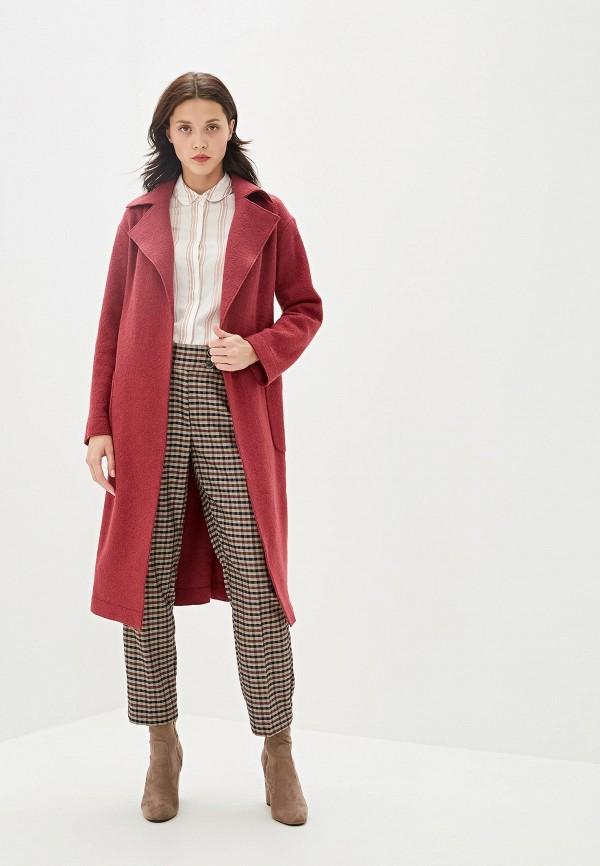 Пальто Aylin Stories цвет бордовый