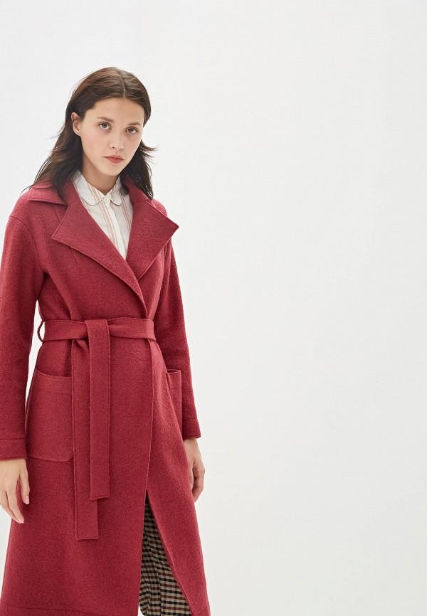 Пальто Aylin Stories цвет бордовый  Фото 2