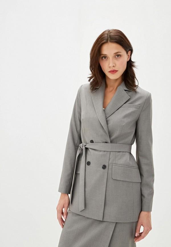 женский пиджак aylin stories, серый