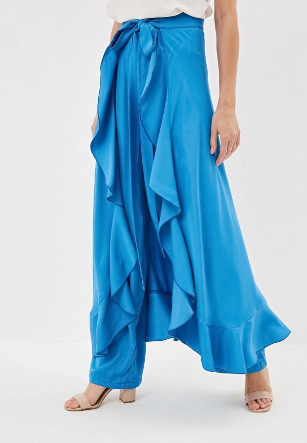 женские повседневные брюки adzhedo, голубые