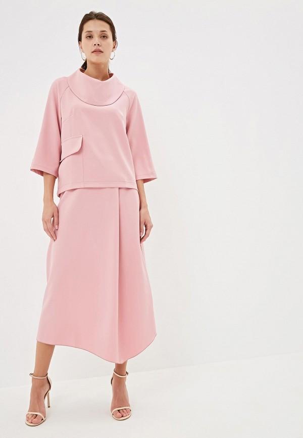 женский костюм adzhedo, розовый