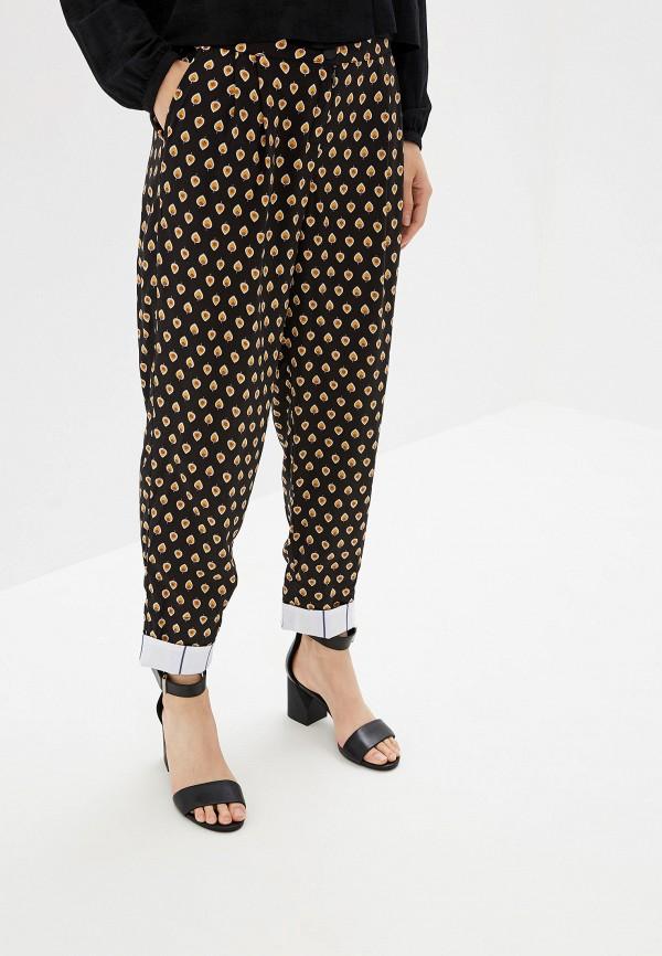 женские повседневные брюки adzhedo, черные