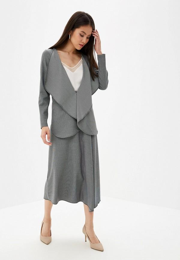 женский костюм adzhedo, серый