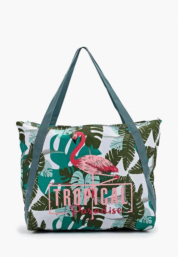 женская сумка-шоперы antan, зеленая