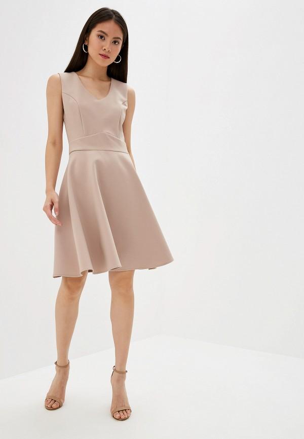 Платье Joymiss цвет бежевый  Фото 2
