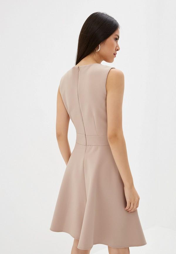 Платье Joymiss цвет бежевый  Фото 3
