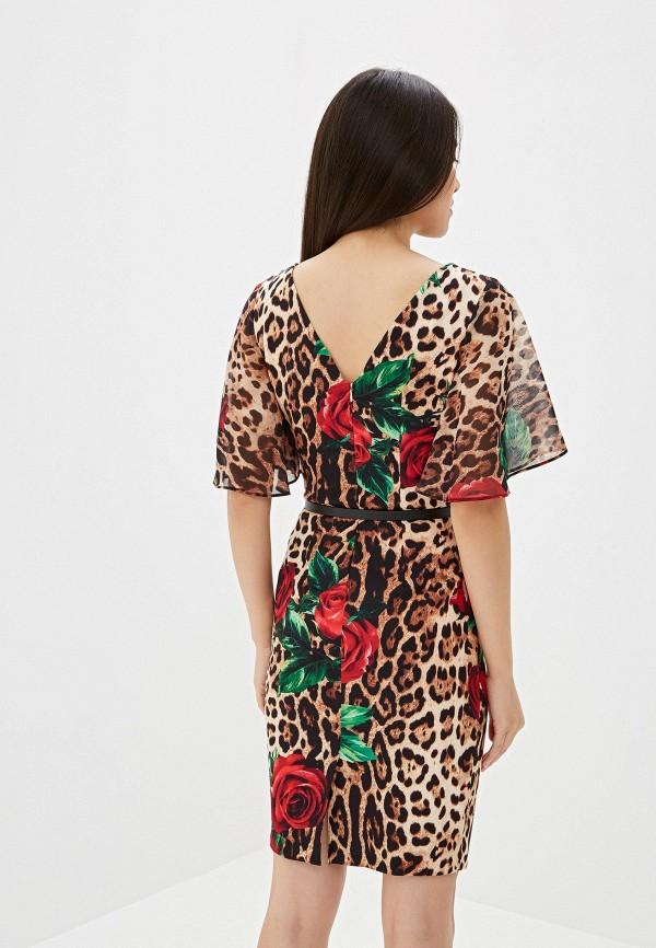 Платье Joymiss цвет коричневый  Фото 3