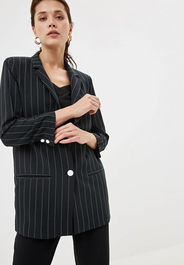 женский пиджак joymiss, черный