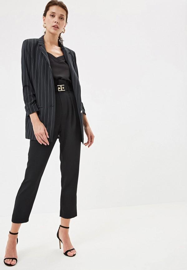 Фото 2 - Женский пиджак Joymiss черного цвета