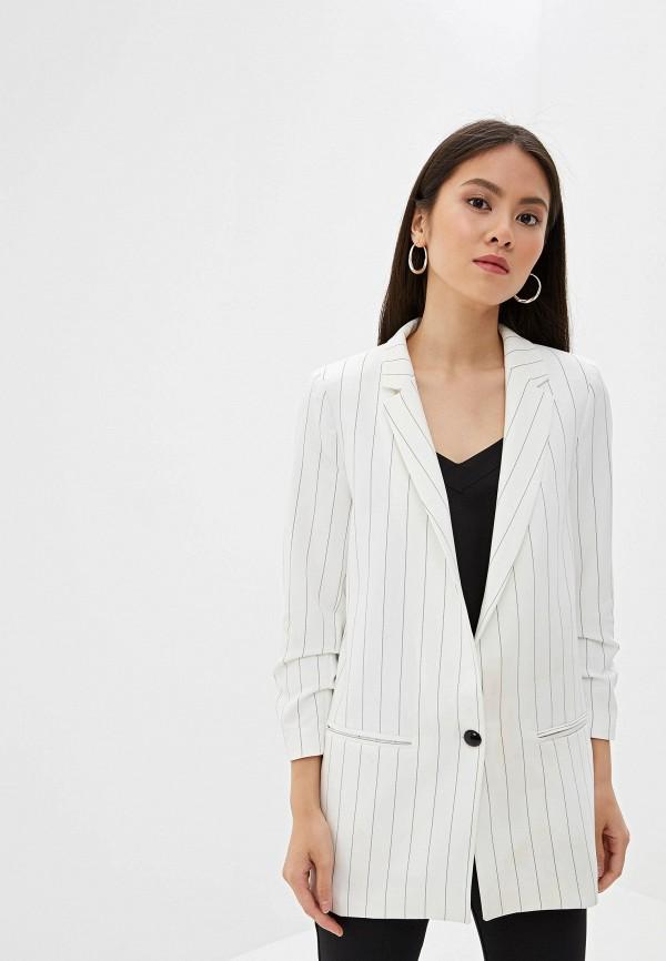 женский пиджак joymiss, белый