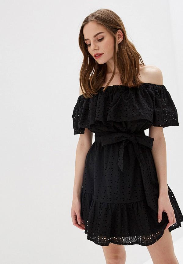 женское платье self made, черное