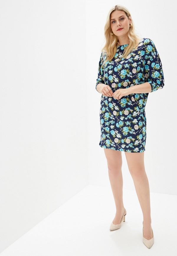 Платье A-A Awesome Apparel by Ksenia Avakyan цвет синий  Фото 2