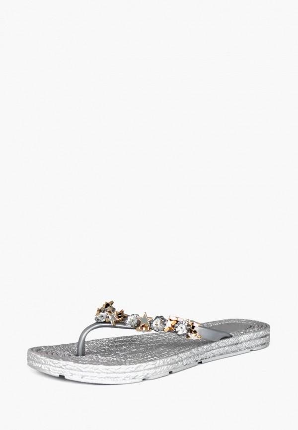 женские сланцы belletta, серебряные