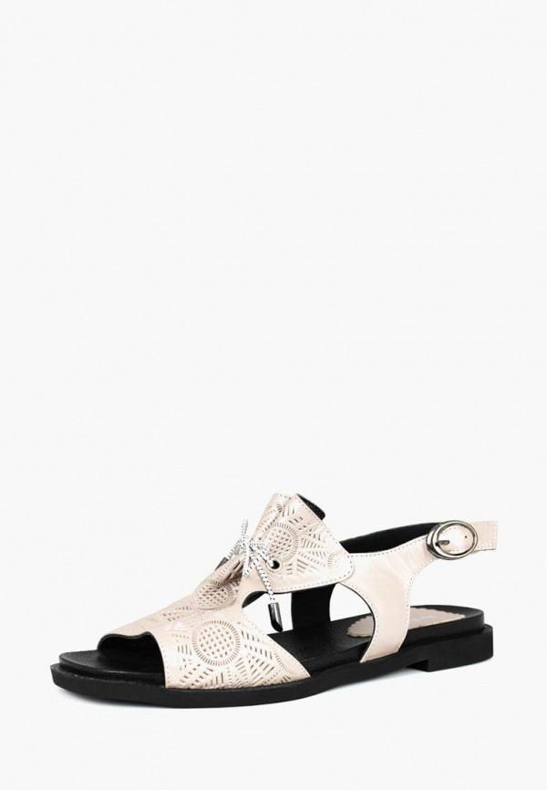 женские сандалии blizzarini, бежевые