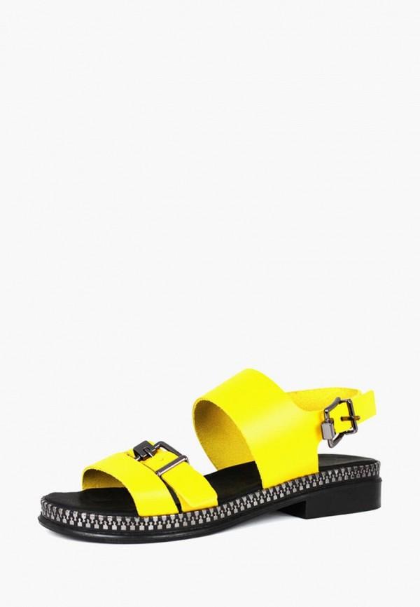 женские сандалии blizzarini, желтые