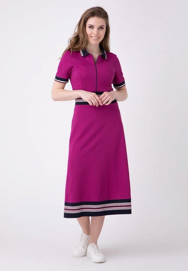 женское повседневные платье ricamare, розовое