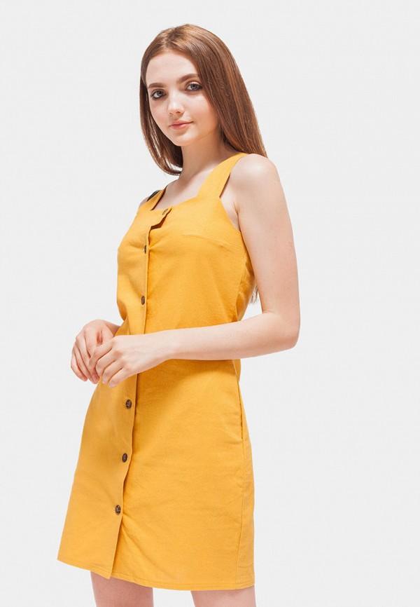 Платье  - желтый цвет