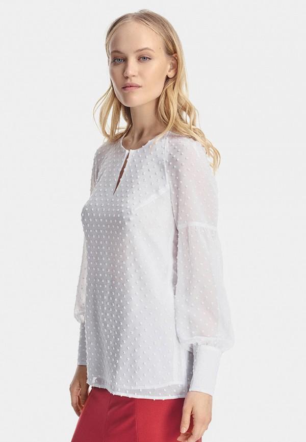 женская блузка natali bolgar, белая