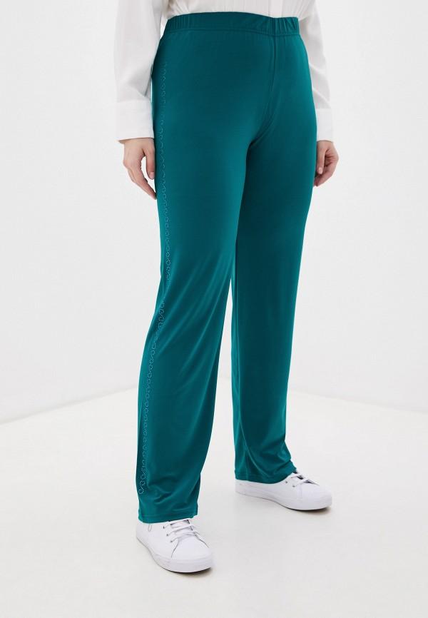 женские брюки sparada, бирюзовые