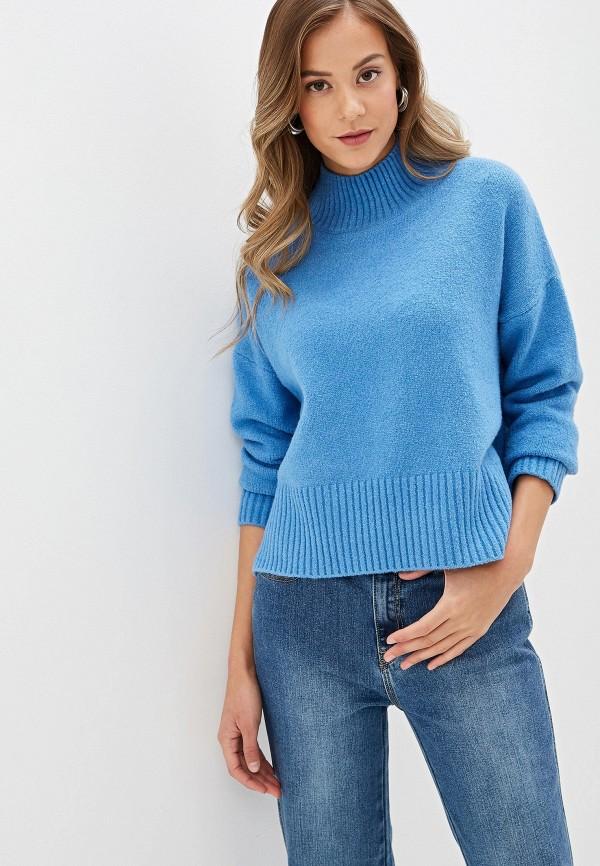 женский свитер zarina, голубой