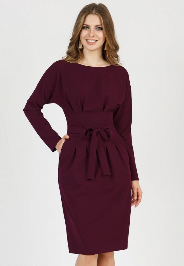 женское платье olivegrey, бордовое