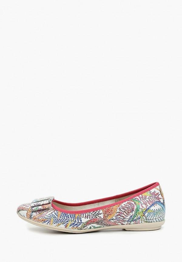 женские балетки ralf ringer, разноцветные