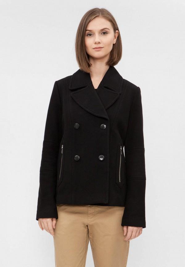 женское пальто tommy hilfiger, черное