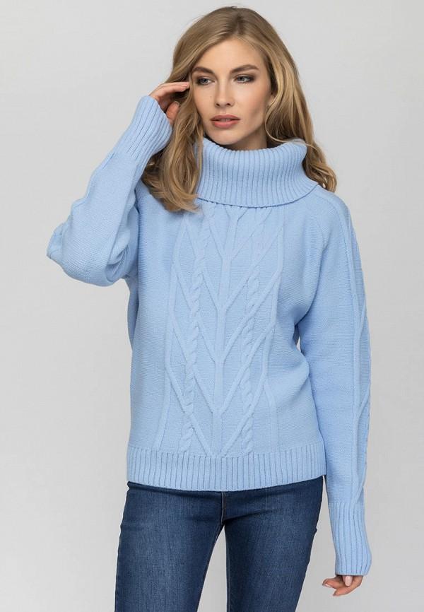 женский свитер gloss, голубой