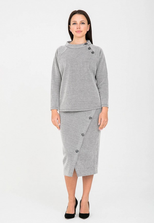 женский костюм mankato, серый