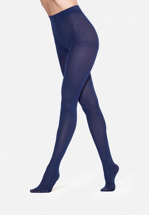 женские колготки golden lady, синие