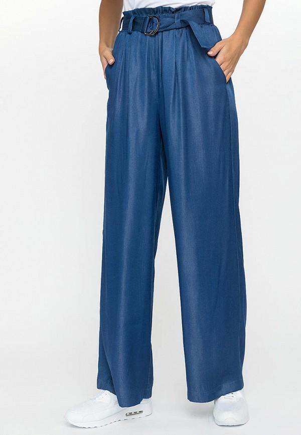 женские повседневные брюки gloss, синие