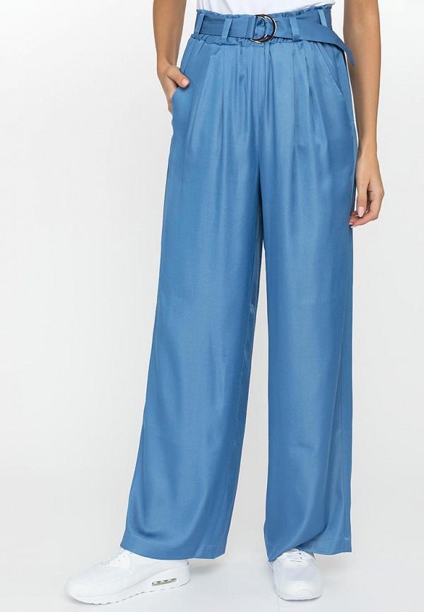 женские повседневные брюки gloss, голубые