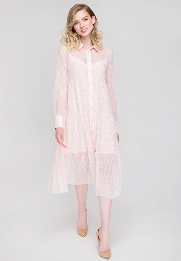 Платье Fors цвет розовый