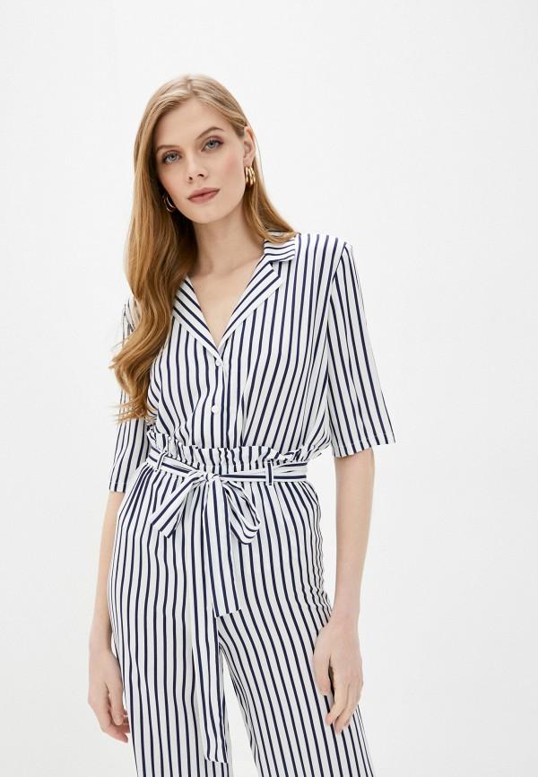 женская блузка с длинным рукавом fnc, белая