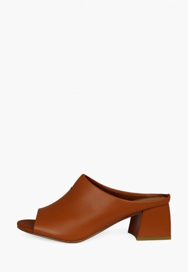 женское сабо blizzarini, коричневое