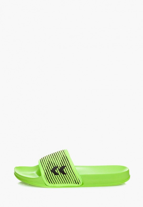 женские сланцы hummel, зеленые