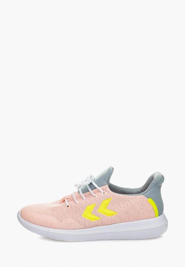 женские кроссовки hummel, розовые
