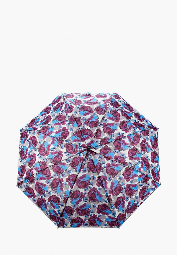 женский складные зонт goroshek, фиолетовый