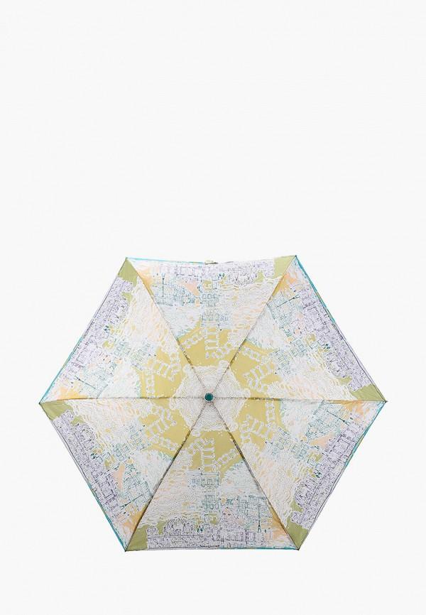 женский складные зонт goroshek, белый