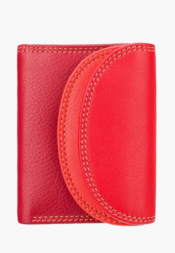 женский кошелёк visconti, красный